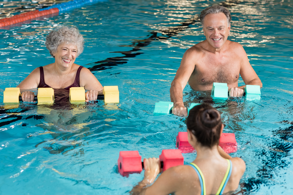 How Water Aerobics Help Relieve Chronic Pain